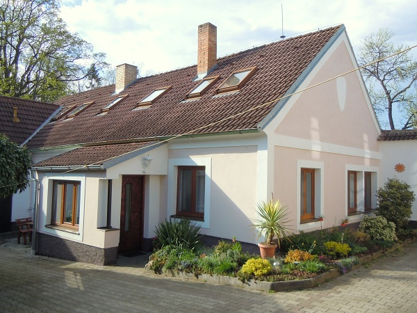 Jižní Čechy - Penzion v Třeboni - venkovní posezení